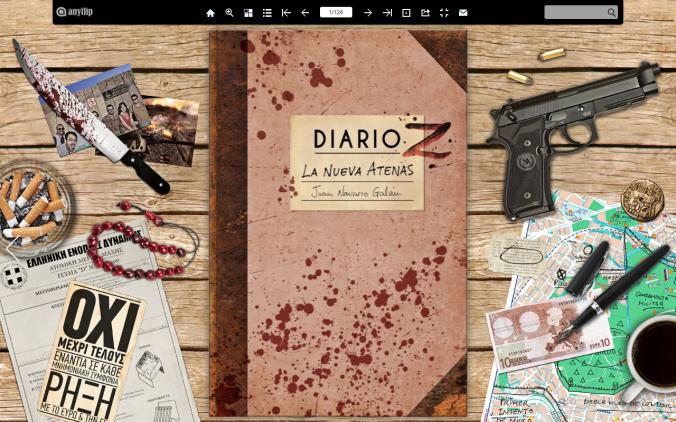 """Lee gratis el libro zombie: """"Diario Z: La Nueva Atenas"""""""
