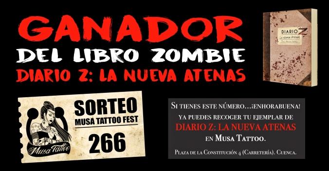 """Ganador del libro zombie del año: """"Diario Z: La Nueva Atenas"""""""