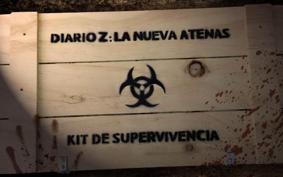 zombie survival kit libro diario z la nueva atenas