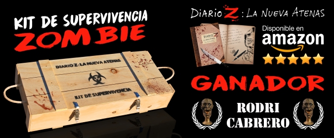 ganador kit supervivencia zombie