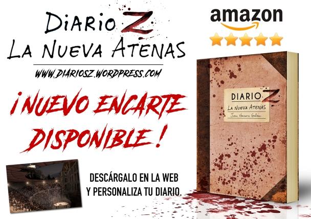 """Nuevo encarte disponible de """"Diario Z: La Nueva Atenas"""""""