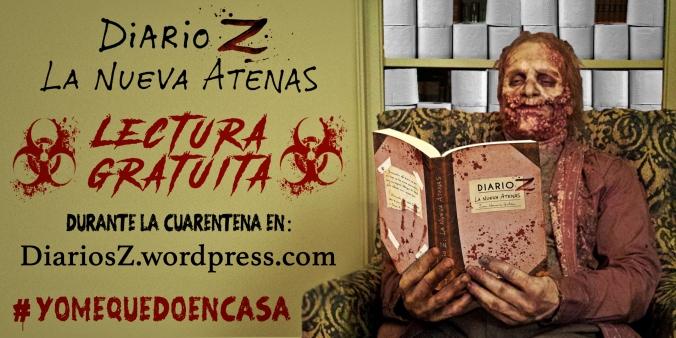 libro gratis Diario Z La Nueva Atenas cuarentena coronavirus yomequedoencasa